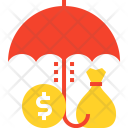 Money Cash Rain Icon