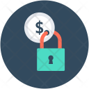 Money Locked Currency Icon