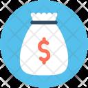 Money Sack Dollar Icon