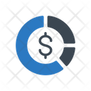 Graph Chart Dollar Icon