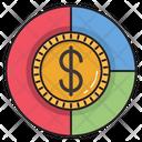 Dollar Graph Money Icon