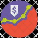 Money Analytics Finance Icon