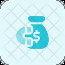 Money Attraction Money Bag Financial Attraction Icon