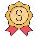 Badge Dollar Money Icon