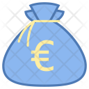 Euro Money Bag Icon