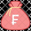 Capital Money Bag Icon