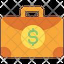 Money Bag Briefcase Suitcase Icon