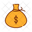 Money Bag Cash Currency Bag Icon