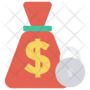 Money Bag Lock Icon