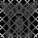 Money Bag Capital Cash Icon