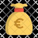 Bag Bank Euro Icon
