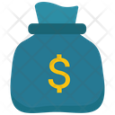 Money Bag With Dollar Sign Payment Finance Icon