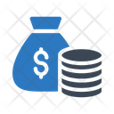 Bag Dollar Cash Icon