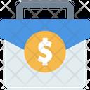 Case Money Bag Briefcase Icon