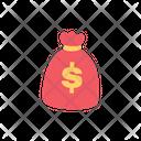 Money Bag Dollar Bag Bag Icon