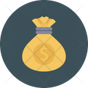 Cash Bag Dollar Icon