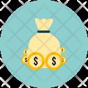 Cash Bag Money Icon