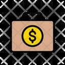 Portfolio Bag Dollar Icon