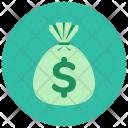 Cash Bag Sack Icon