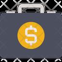 Business Finance Briefcase Icon