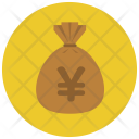 Yen Money Bag Icon