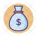 Mmoney Bag Money Bag Money Sack Icon