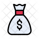 Dollar Bag Currency Icon