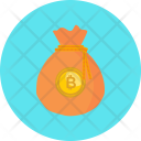 Money Bitcoin Cryptocurrency Icon