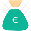 Euro Earning Cash Icon