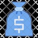 Sack Saving Dollar Icon