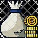 Money Bag Finance Dollar Icon