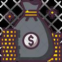 Bag Coin Money Icon