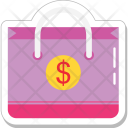 Money Bag Dollar Icon