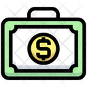 Money Bag Money Suitcase Money Case Icon