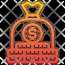 Money Bag Saving Money Icon