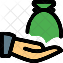 Share Money Bag Icon