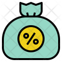 Money Tax Bag Icon