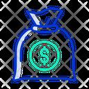 Money Bag Robbery Money Icon