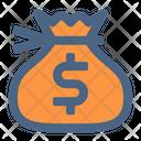 Money Bag Dollar Bag Money Sack Icon