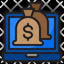 Money Bag Online Money Bag Icon