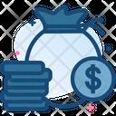 Money Bag Coin Icon
