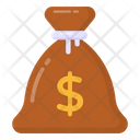 Cash Bag Money Bag Wealth Icon