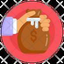 Finance Money Bag Money Pouch Icon