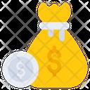 Money Bag Money Sack Finance Bag Icon