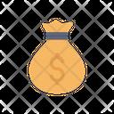 Money Bag Dollar Bag Money Pouch Icon