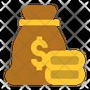 Money Bag Prize Cash Icon