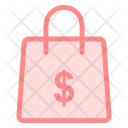 Money Bag Shoping Icon
