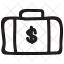 Bag Money Portfolio Icon