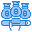 Money Bags Finance Business Icon