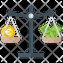 Money Balance Financial Balance Business Balance Icon